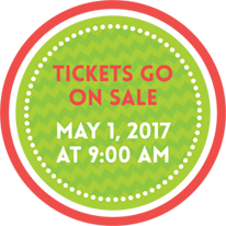 Tickets Go On Sale -  May 1st 2017 at 9:00am.